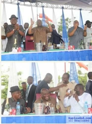 Lol!! See How Wike, Uche Secondus and Others Celebrated After the Rivers Rerun Election [Photos]
